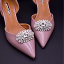 baratos Decorações-2pçs Strass Acessórios Decorativos Mulheres Todas as Estações Casamento / Férias Prata