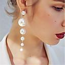 ราคาถูก เสื้อผ้า, เครื่องประดับ & จิวเวอรี่-Great Gatsby Drop Earrings ต่างหูลูก Klasszikus จี้ สง่า&หรูหรา 1920s ไข่มุกเทียม เครื่องประดับ สำหรับ งาน / ปาร์ตี้ Prom สำหรับผู้หญิง เด็กผู้หญิง เครื่องประดับเครื่องแต่งกาย