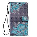 billige Andre telefonsaker-Etui Til Sony Xperia XZ2 Compact / Xperia XZ2 / Xperia XA2 Lommebok / Kortholder / med stativ Heldekkende etui Blomsternål i krystall Hard PU Leather