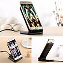 billiga Trådlösa laddare-Trådlös laddare USB-laddare Universell Trådlös laddare / Inkluderar stativ / Snabbladdning 1 USB-port 1 A DC 5V för iPhone X / iPhone 8 Plus / iPhone 8