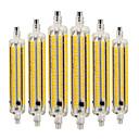 Χαμηλού Κόστους Σετ ρούχων για αγόρια-YWXLIGHT® 6pcs 9 W LED Λάμπες Καλαμπόκι 800-900 lm R7S 164 LED χάντρες SMD 5730 Με ροοστάτη Διακοσμητικό Θερμό Λευκό Ψυχρό Λευκό Φυσικό Λευκό 220-240 V