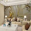povoljno Mural-Art Deco Uzorak 3D Početna Dekoracija Vintage Moderna Zidnih obloga, Platno Materijal Ljepila potrebna Mural, Soba dekoracija ili zaštita
