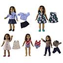 ราคาถูก Dolls-ตุ๊กตาสาว ตุ๊กตาแฟชั่น เด็กผู้หญิง 18 inch เป็นมิตรกับสิ่งแวดล้อม Child Safe Non Toxic การแต่งกายที่ง่าย ขนตาปลอมมือ เล็บปลอมและเล็บ เด็ก เด็กผู้หญิง Toy ของขวัญ