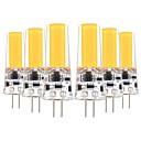Χαμηλού Κόστους LED Bi-pin Λαμπτήρες-YWXLIGHT® 6pcs 5 W LED Φώτα με 2 pin 400-500 lm G4 T 1 LED χάντρες COB Διακοσμητικό Θερμό Λευκό Ψυχρό Λευκό 12-24 V 12 V