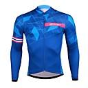 Χαμηλού Κόστους Μαγνητικά τουβλάκια-SPAKCT Ανδρικά Μακρυμάνικο Φανέλα ποδηλασίας Χειμώνας Προβιά Ελαστίνη Polyster Μπλε Ποδήλατο Αθλητική μπλούζα Ποδηλασία Βουνού Ποδηλασία Δρόμου Γρήγορο Στέγνωμα Αθλητισμός Ρούχα / Ελαστικό