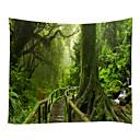 billige Wall Tapestries-Hage Tema Landskap Veggdekor 100% Polyester Moderne Veggkunst, Veggtepper av