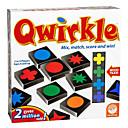 Χαμηλού Κόστους Μαγικά κόλπα-Qwirkle Επιτραπέζια παιχνίδια Επαγγελματικό Στρες και το άγχος Αρωγής Παιχνίδια αποσυμπίεσης Οικογένεια Φορητό 108 pcs Παιδικά Ενηλίκων Αγορίστικα Κοριτσίστικα Παιχνίδια Δώρο