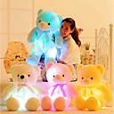 ราคาถูก สัตว์สตาฟ-Romance Creative หมีเท็ดดี้ Stuffed & Plush Animals น่ารัก นาฬิกา LED ซิลิโคน เด็กผู้หญิง Toy ของขวัญ