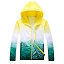 ราคาถูก ชุดกันลม,เสื้อขนแกะ,แจ็กเก็ตสำหรับปีนเขา-สำหรับผู้ชาย สำหรับผู้หญิง Hiking Windbreaker แจ็คเก็ตไต่เขาผิว Hiking Jacket กลางแจ้ง กันน้ำ กันลม ป้องกันแดด ทน UV ฤดูใบไม้ผลิ ฤดูร้อน Hoodie Sun Protection Clothing Tops / ระบายอากาศ / แห้งเร็ว