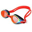 billiga Swim Goggles-Simglasögon Vattentät Anti-Dimma Justerbar storlek Anti-UV Reptåligt Stöttålig Kiselgel PC Blå Ljusrosa Mörkblå Ljusgrå Blå Ljusrosa