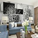 povoljno Zidne tapete-crno i bijelo umjetničko stablo prilagođeno 3d velika zidna pokriva zidna pozadina prikladna restoran TV pozadina stabla
