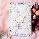 ราคาถูก การ์ดงานแต่ง-Flat Card เชิญแต่งงาน 50-แพ็ค / 20-แพ็ค - ชุดคำเชิญ Artistic Style Pearl Paper