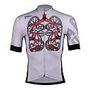 Χαμηλού Κόστους Μαγνητικά τουβλάκια-SPAKCT Ανδρικά Φανέλα ποδηλασίας Γκρίζο Σκελετός Ποδήλατο Αθλητική μπλούζα Ποδηλασία Βουνού Ποδηλασία Δρόμου Γρήγορο Στέγνωμα Αθλητισμός 100% Πολυέστερ Ρούχα / Ελαστικό / Εμπειρογνώμονας