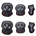 billiga Fickur-Knä-, armbågs- och handledsskydd för Inlines / Hoverboard / Rullskridskor Andningsfunktion / Skyddande 6-pack