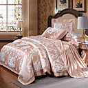 povoljno Luksuzni poplune-Poplun Cover Sets Luksuz Silk / Cotton Blend Jacquard 4 komadaBedding Sets / > 800