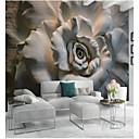 Χαμηλού Κόστους Τοιχογραφία-Φλοράλ Art Deco 3D Αρχική Διακόσμηση Κλασσικό Μοντέρνα Κάλυψης τοίχων, Καμβάς Υλικό κόλλα που απαιτείται Τοιχογραφία, δωμάτιο Wallcovering