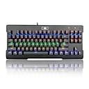 Χαμηλού Κόστους Θήκες & Καλύμματα-REDRAGON K561RGB USB Ενσύρματο μηχανικό πληκτρολόγιο πληκτρολόγιο Gaming Προγραμματιζόμενο Φωτίζει RGB φωτισμός 87 pcs Κλειδιά