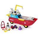 ราคาถูก อุปกรณ์การทำขนม-Pretend Professions & Role Playing เรือ การจำลอง เปลือกหุ้มพลาสติก เด็กผู้ชาย เด็กผู้หญิง Toy ของขวัญ