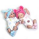 povoljno Lutkice-NPKCOLLECTION NPK DOLL Autentične bebe Djevojka lutka Za ženske bebe 10 inch Cijeli silikon tijela Silikon Vinil - novorođenče vjeran Sladak Hand Made Sigurno za djecu Non Toxic Dječjom Uniseks