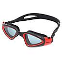 billiga Swim Goggles-Simglasögon Vattentät Anti-Dimma Justerbar storlek Anti-UV Reptåligt Stöttålig Kiselgel PC Gul Vit Grön Ljusgrå Ljusgrön Ljusrosa
