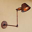 ราคาถูก โคมไฟติดผนังด้านข้าง-ป้องกันแสงสะท้อน Mini Style เรทโทร/วินเทจ Country ไฟสวิงอาร์ม สำหรับ ห้องนั่งเล่น Shops/Cafes โลหะ โคมไฟติดผนัง 110-120โวลล์ 220-240โวลต์