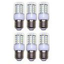Χαμηλού Κόστους Θήκες / Καλύμματα για Huawei-SENCART 6pcs 3 W LED Λάμπες Καλαμπόκι 300 lm E14 G9 GU10 T 40 LED χάντρες SMD 5730 Διακοσμητικό Θερμό Λευκό Ψυχρό Λευκό 220-240 V 110-120 V