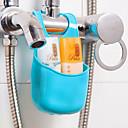 זול גאדג'טים לאמבט-ווים Multi-function קל לשימוש מודרני, חדשני אחסון ניתן להסרה יצירתי בסיסי פלסטי PVC ארגון אמבטיה אביזרי אמבטיה אחרים אביזרי מקלחת
