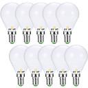 billiga Island Lights-EXUP® 10pcs 7 W 680 lm E14 / E26 / E27 LED-globlampor G45 6 LED-pärlor SMD 2835 Dekorativ Varmvit / Kallvit 220-240 V / 110-130 V / 10 st / RoHs / CCC / ERP / LVD