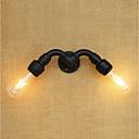 povoljno Zidni svijećnjaci-Mini Style Retro/vintage Zemlja Picture Wall Lights Za Metal zidna svjetiljka 110-120V 220-240V 40W