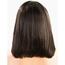povoljno Perike s ljudskom kosom-Virgin kosa Full Lace Lace Front Perika Bob frizura Kardashian stil Brazilska kosa Perika 130% 150% Gustoća kose s dječjom kosom Prirodna linija za kosu Žene Kratko Perike s ljudskom kosom PERFE