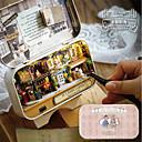 ราคาถูก บ้านตุ๊กตา-In A Happy Corner 3D Wooden DIY Handmade Box DIY ประณีต ธีมคลาสสิก เฟอร์นิเจอร์ กล่อง ทำด้วยไม้ Klasszikus สำหรับเด็ก เด็กผู้หญิง Toy ของขวัญ