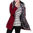 povoljno Softshell, flis i jakne za planinarenje-Žene Osnovni hoodie jakna Jednobojni / Zima