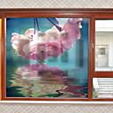 זול מדבקות קיר-חלון הסרט & מדבקות תַפאוּרָה פרחוני / עכשווי פרחוני PVC מדבקה לחלון / מאט
