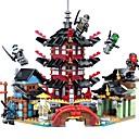 Χαμηλού Κόστους Building Blocks-Τουβλάκια Κατασκευασμένα Παιχνίδια Εκπαιδευτικό παιχνίδι 737 pcs Αρχιτεκτονική συμβατό Legoing Πανέμορφος Αλληλεπίδραση γονέα-παιδιού Κινούμενα σχέδια Αγορίστικα Κοριτσίστικα Παιχνίδια Δώρο