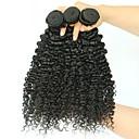 Χαμηλού Κόστους Χωρίς κάλυμμα-3 δεσμίδες Βραζιλιάνικη Kinky Curly Φυσικά μαλλιά Εξτένσιον από Ανθρώπινη Τρίχα 8-28 inch Φυσικό Χρώμα Υφάνσεις ανθρώπινα μαλλιών επέκταση Hot Πώληση Επεκτάσεις ανθρώπινα μαλλιών / 8A