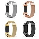 ราคาถูก ของตกแต่งหน้าเค้ก-สายนาฬิกา สำหรับ Fitbit Charge 2 Fitbit สายสแตนเลส Milanese โลหะ / สแตนเลส สายห้อยข้อมือ