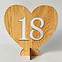 povoljno Svadbeni ukrasi-drven Tablica centar komada - Non-personalizirane Držači za oznaku mjesta Trim 20pcs Sva doba