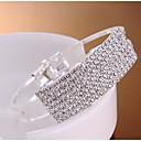ราคาถูก สร้อยข้อมือ-สำหรับผู้หญิง กำไล แฟชั่น โลหะผสม สร้อยข้อมือเครื่องประดับ สีทอง / สีเงิน สำหรับ งานแต่งงาน ปาร์ตี้