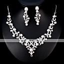 povoljno Komplet nakita-Žene Komplet nakita Europska Moda Naušnice Jewelry Pink Za Vjenčanje Dnevno
