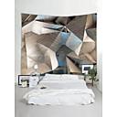 billige Wall Tapestries-Stilleben Tegneserie Veggdekor 100% Polyester Moderne Veggkunst, Veggtepper Dekorasjon