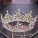 זול עגילים-סגסוגת Tiaras עם ריינסטון / דמוי פנינה 1pc חתונה / מסיבה\אירוע ערב כיסוי ראש