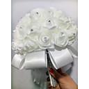 """Χαμηλού Κόστους Λουλούδια Γάμου-Λουλούδια Γάμου Μπουκέτα Γάμου / Βαλεντίνος Αφρός 7,87 """" (περίπου20εκ) 5,91 """" (περίπου15εκ)"""