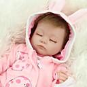 Χαμηλού Κόστους Κούκλες σαν αληθινές-NPKCOLLECTION NPK DOLL Κούκλες σαν αληθινές Κορίτσι κορίτσι Μωρά Κορίτσια 18 inch Σιλικόνη πλήρους σώματος Σιλικόνη - Νεογέννητος όμοιος με ζωντανό Χαριτωμένο Χειροποίητο Ασφαλής για παιδιά Non Toxic
