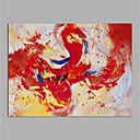 povoljno Slike krajolika-Hang oslikana uljanim bojama Ručno oslikana - Sažetak Moderna Bez unutrašnje Frame / Valjani platno