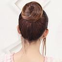 billiga Hästsvansar-Blommor Hårknut Sexig Lady Snörning Syntetiskt hår Hårstycke HÅRFÖRLÄNGNING Blommor Medium Rödbrun / Mörk Rödbrun / Blekt Blont