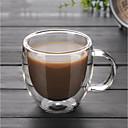 Χαμηλού Κόστους Κούπες & Φλυτζάνες-drinkware Υψηλό γυαλί βορίου Κούπες Καφέ φίλη δώρο δώρο Boyfriend 1pcs