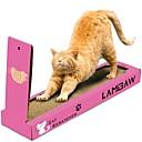 Χαμηλού Κόστους Γάτα Κρεβάτια & Αντικείμενα μεταφοράς-Catnip Κρεβάτια Ξύρισμα πίνακα Γάτες Κατοικίδια Παιχνίδια 1 Απλός Φιλικό προς τα Κατοικίδια Μπλοκ για ξύσιμο νυχιών Χαρτόνι Δώρο