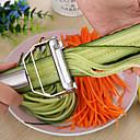 billiga Frukt och grönsakstillbehör-köksredskap matlagningsverktyg multifunktions rostfritt stål julienne peeler grönsaksskalare dubbel planningsrist