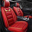 billiga Sätesövdrag till bilen-5sits röd tecknad fyra säsonger gm bilsäte full täckning för fem-sits bil / pu läder och is silk tyg konst / airbag kompatibilitet / justerbar och avtagbar / familjebil / suv