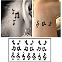 billiga tatuering klistermärken-10 pcs Tatueringsklistermärken tillfälliga tatueringar Tecknad serie Body art arm